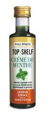 Creme de Menthe Top Shelf