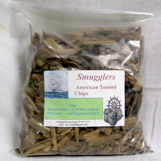 American Toasted Oak Chips 450 grams
