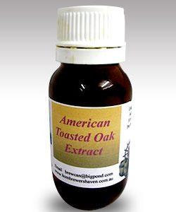 American Toasted Liquid Oak 50 mls