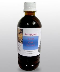 Rum oak extract 350mls