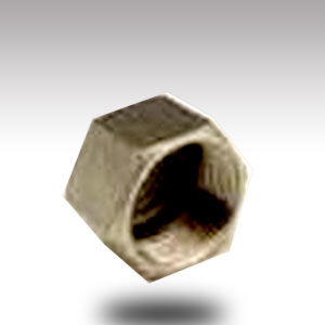 15mm Stainless Steel Hex Cap