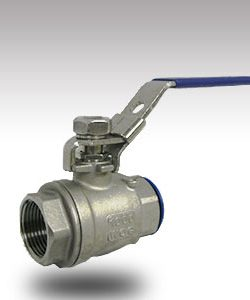 18mm SS Lockable Ballvalve