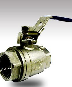 25mm SS Lockable Ballvalve