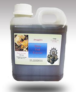 Smugglers Rum Oak Extract 1 litre