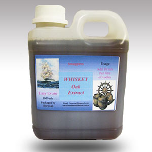 Smugglers Whiskey Oak Extract 1 litre