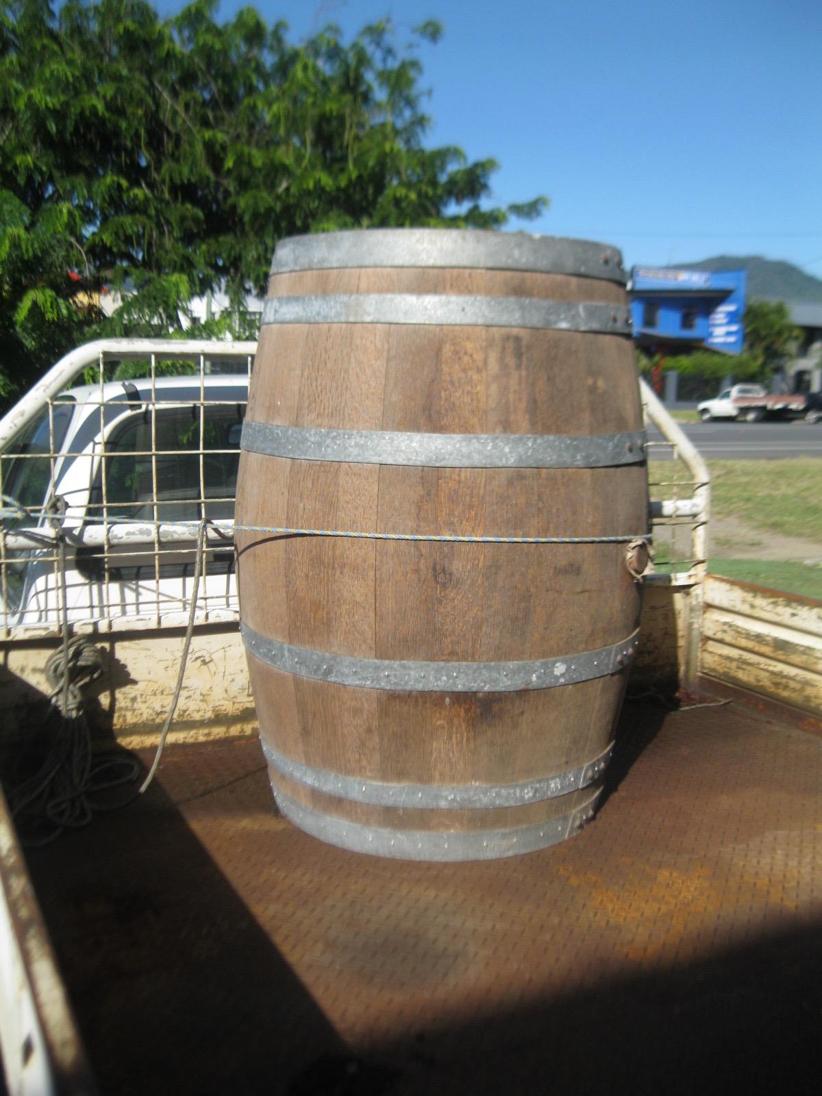 Wooden Barrel ex wine 225 litres