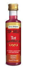 Red Sambuca Top Shelf.