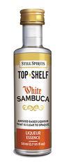 White Sambuca Top Shelf