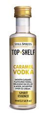 Caramel Vodka Top Shelf