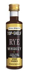 Rye Whiskey Top Shelf